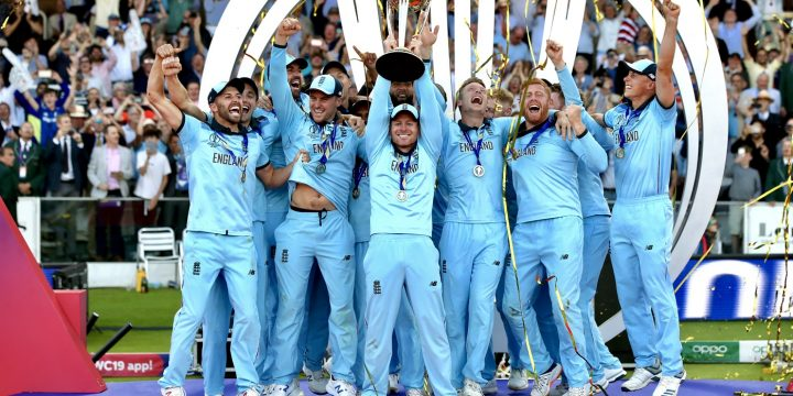 England Clinch Cricket World Cup