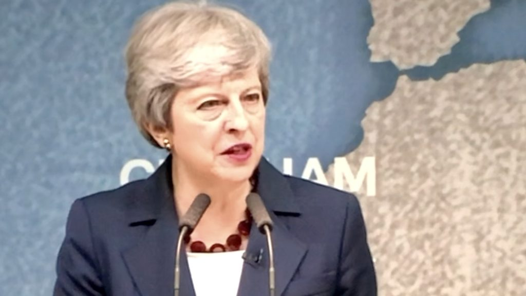 Theresa May's Last Official Day