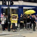 protesting for Hong Kong