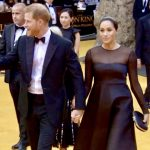 Meghan and Harry At Lion King Premiere