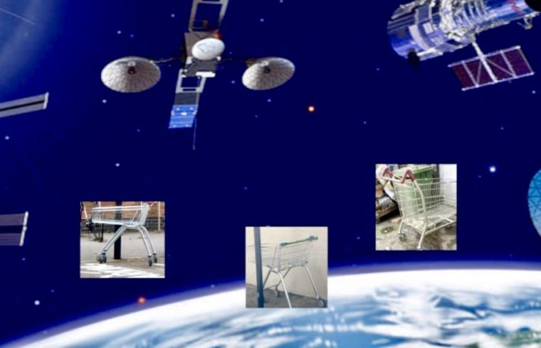 Trolley science Connects With Satellites
