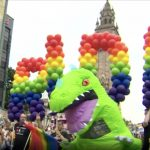 Pride: Belfast Flooded With Colour For Parade