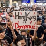 demonstrators call for democracy