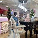 Robot Theresa on staff