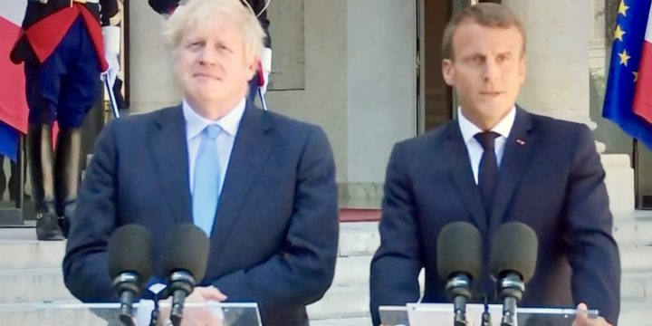 Brexit: Macron Tells Boris Backstop 'Indispensable'