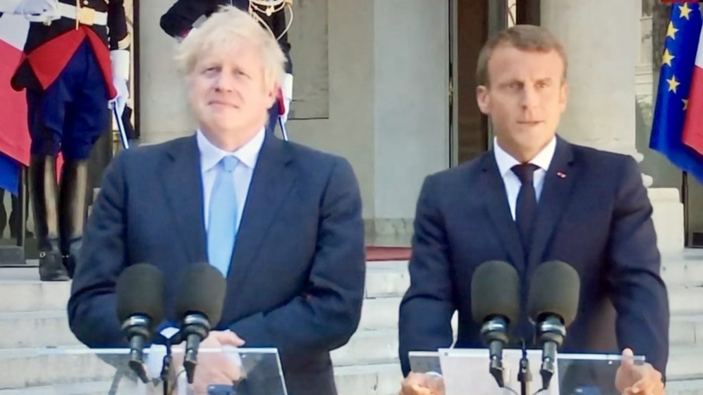 Brexit: Macron Tells Boris Backstop 'Indispensable'