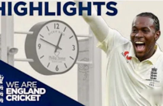 The Ashes Day 1 Highlights