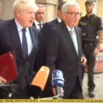Boris and Juncker In Luxembourg