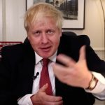 Boris enjoys his PMQs to public