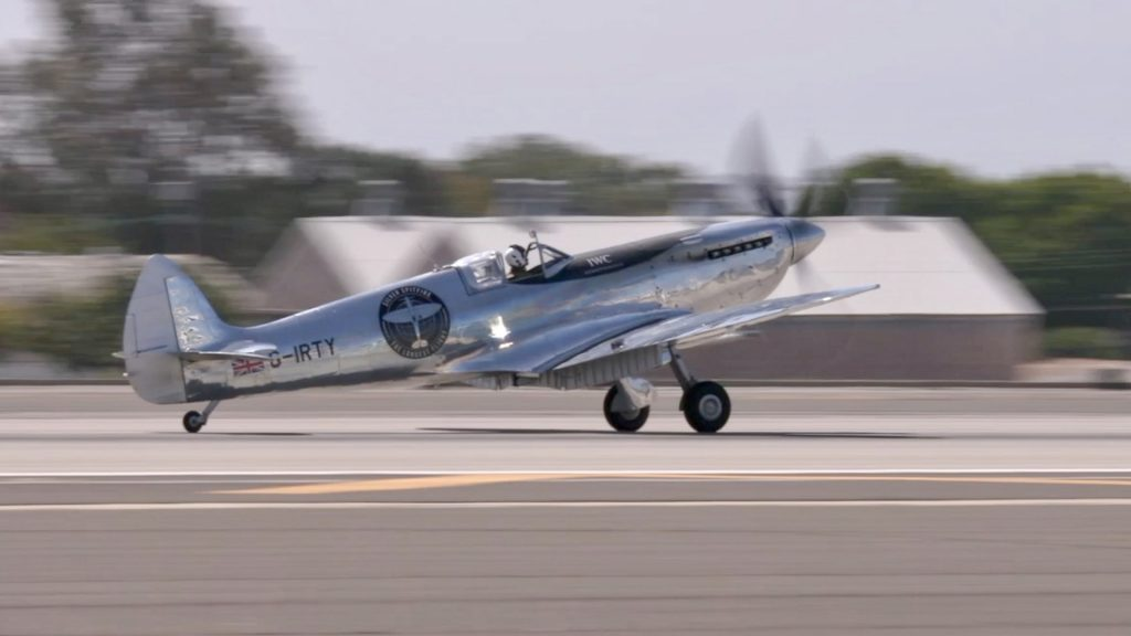 Silver Spitfire On Record Breaking World Trip