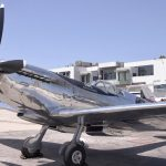 Silver aircraft great to fly