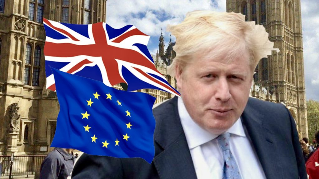 House of Commons: Boris Presents Brexit to MPs