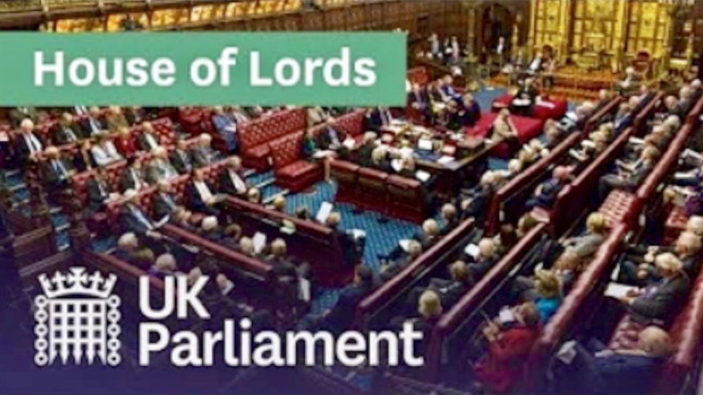 LIVE House of Lords - voted to approve Benn Bill