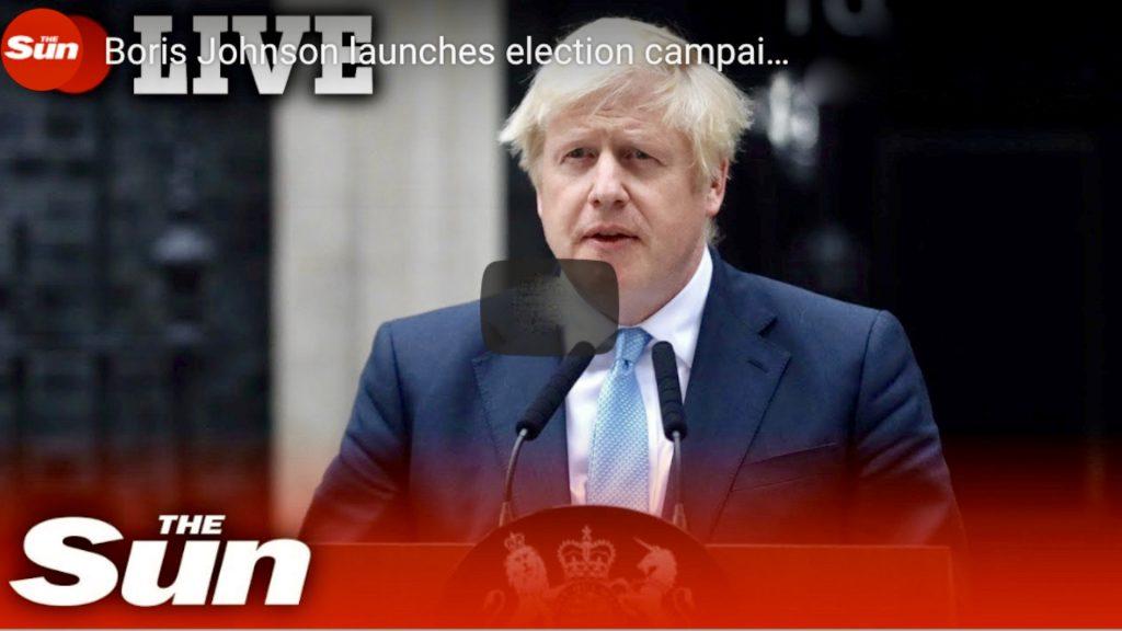LIVE: Boris Johnson Launches Election Campaign