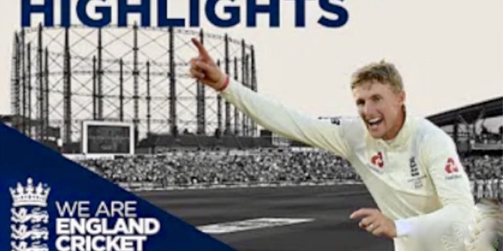 England Win 5th Test to Draw Series!