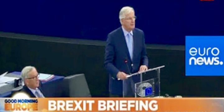 Live | Juncker Barnier Address Euro Parliament on Brexit