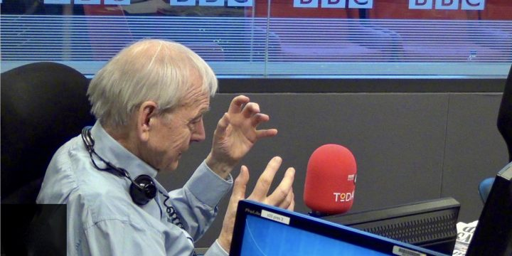 John Humphrys Hosts Final R4 Today Programme