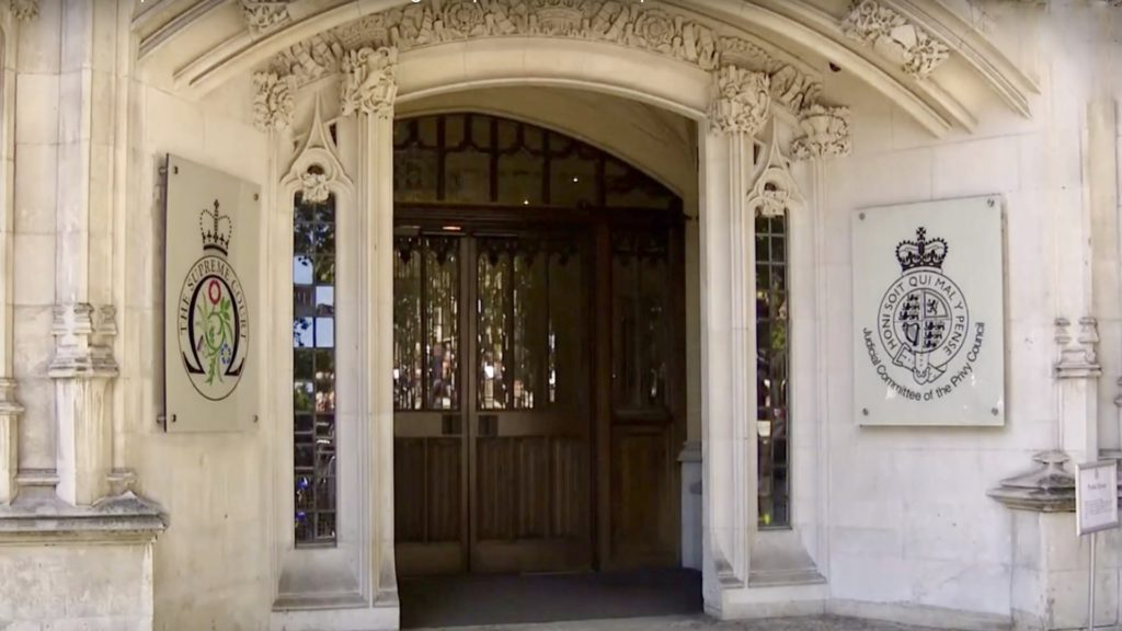 UK Supreme Court - Challenge on Parliament Suspension