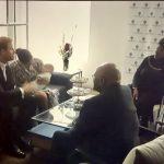 tea with Archbishop Tutu