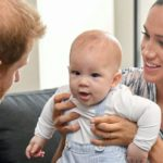 Baby Archie Appears Royal Tour Africa