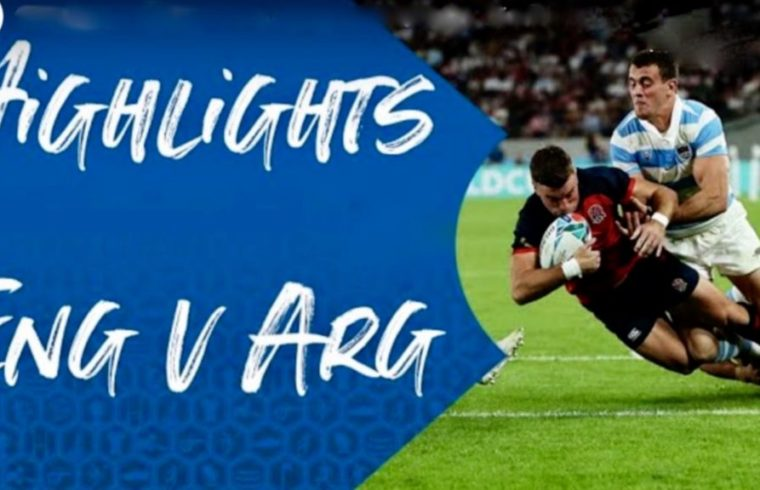 England v Argentina - Rugby World Cup