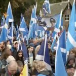 huge crowd join independence march