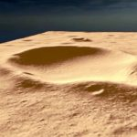 landing point on Mars