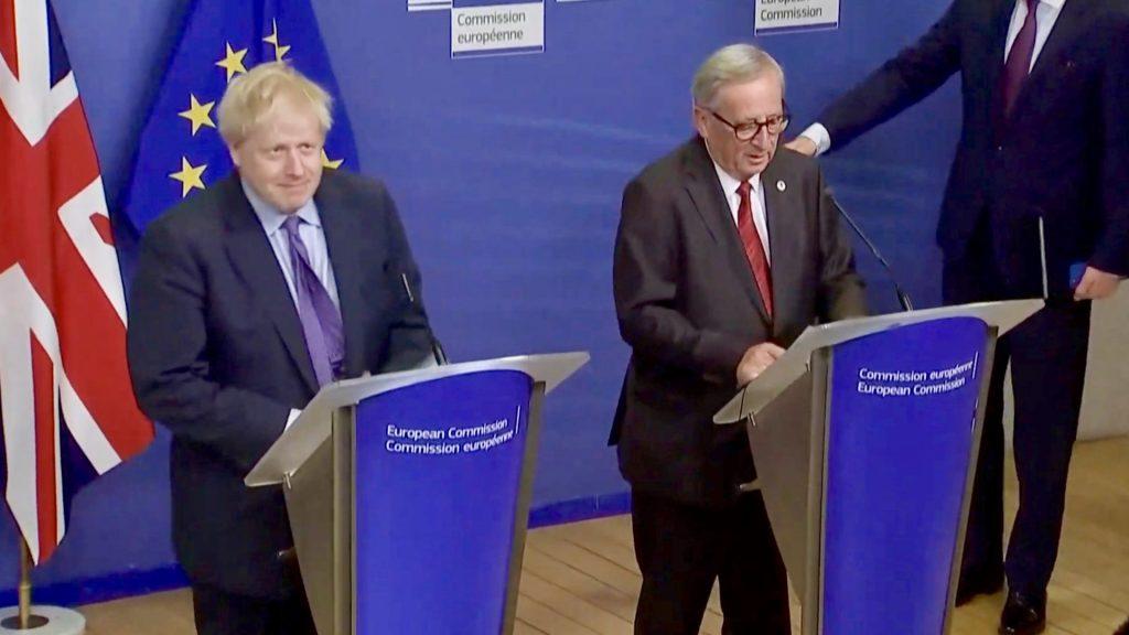 Boris Johnson - Jean-Claude Juncker