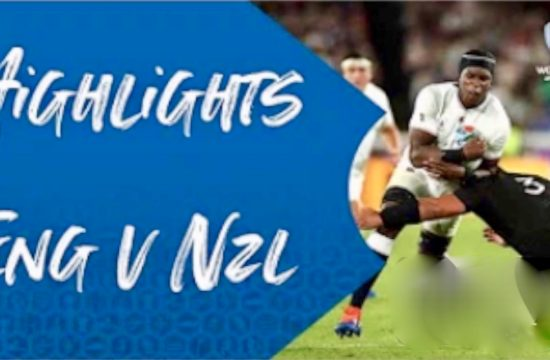 England Beat All Blacks