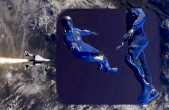 World's First Spacesuit Engineered for Virgin Galactic