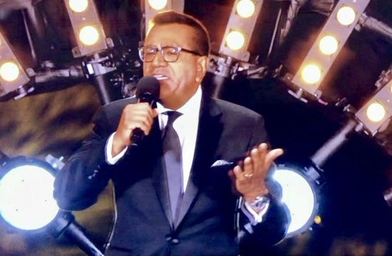 Martin Bashir Croons on Celebrity X Factor