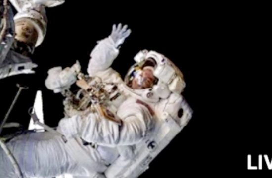 Live Spacewalk Outside the International Space