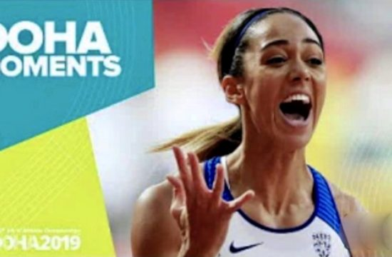 Johnson-Thompson Wins Heptathlon Gold