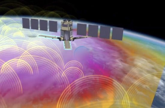 Weather Satellite A Decade In Orbit