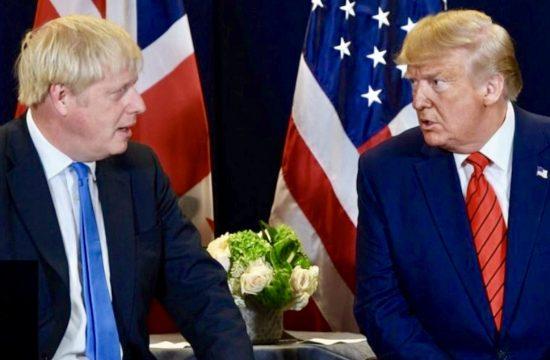 Trump Criticises Boris