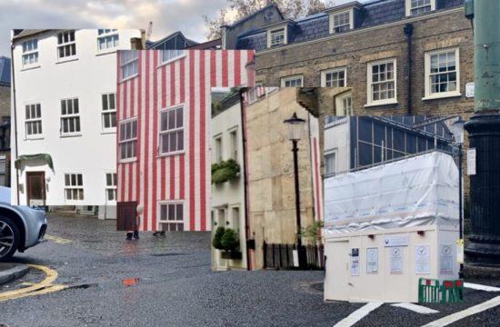 Striped House Demolished