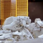 spacewalks to fix the AMS