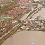 River Derwent burst its banks
