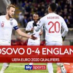 England Finish Campaign 4-0 Win!