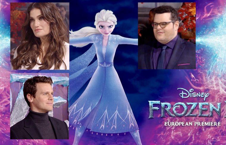 Frozen 2 European Premiere London