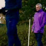 Jose Mourinho takes first session