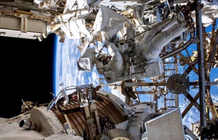 Spacewalk 3 AMS Repairs