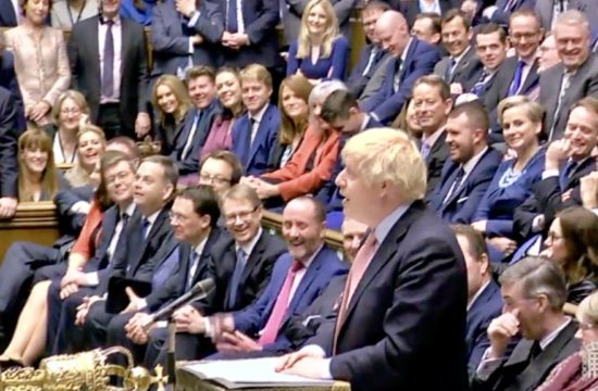 Boris MPs Return to the Commons