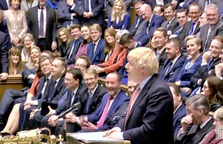 Boris MPs Return to the Commons