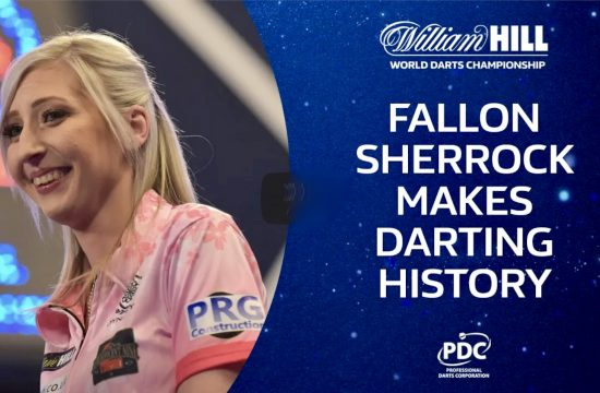 Sherrock Makes Darting History
