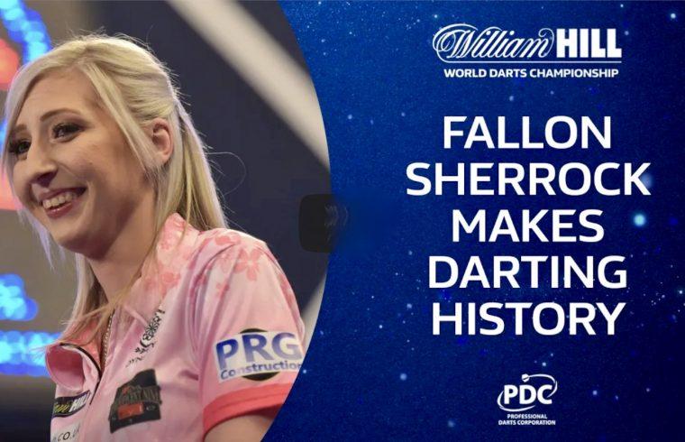 Sherrock Makes Darting History