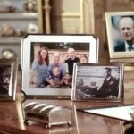 Harry and Meghan missing from display
