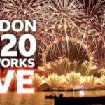 London 2020 Fireworks