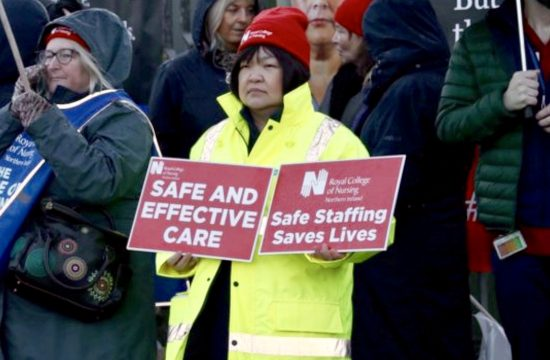Northern Ireland: Nurses on Strike