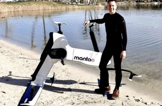 Electric Bike Takes to the Water